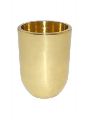Constance Brass Slipper Cups