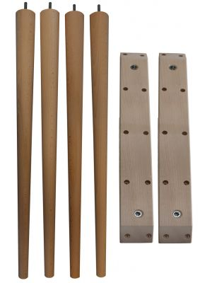 McCobb Table Legs Tall with Straight Table Leg Battens