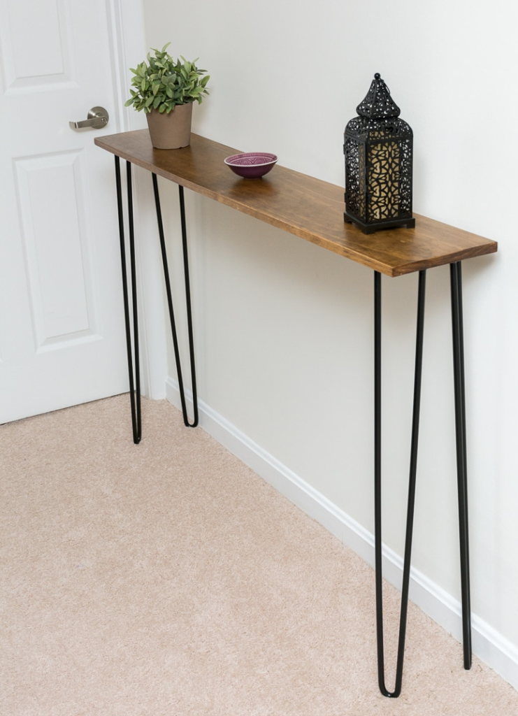 Hallway Table Hairpin Legs